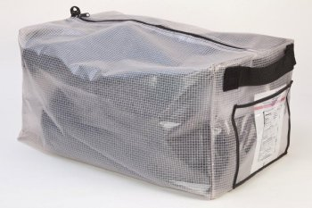 Soft Storage Bag With Zipper Closure